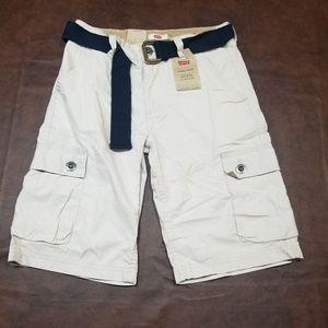 Levi's Boys' Westwood Cargo Shorts NEW SZ 12